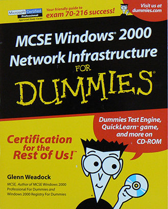 MCSE Windows 2000 Network Infrastructure For Dummies